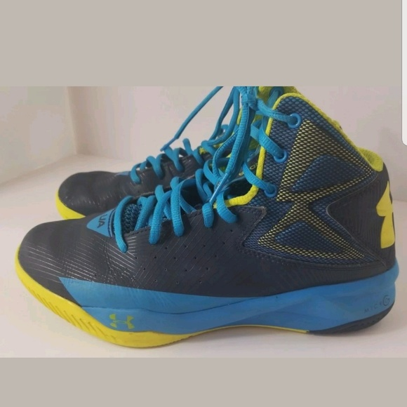 promo code 42051 74c7c Men UA Under Armour Rocket Basketball Shoes Midnig